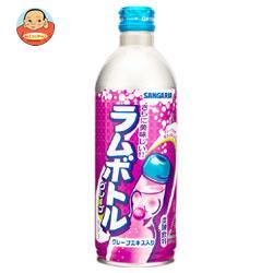サンガリア グレープラムボトル 500gボトル缶×24本入