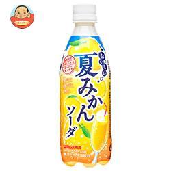 サンガリア おいしい夏みかんソーダ 500mlペットボトル×24本入