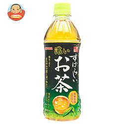 サンガリア すばらしい濃いお茶 500mlペットボトル×24本入