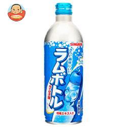 サンガリア ラムボトル 500gボトル缶×24本入