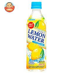 サンガリア 氷晶 レモンウォーター 500gペットボトル×24本入