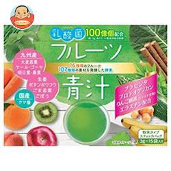 新日配薬品 乳酸菌入りフルーツ青汁 (3g×15包)×5箱入