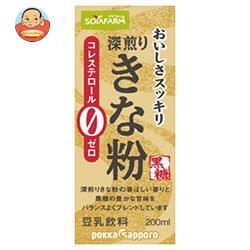 ソヤファーム おいしさスッキリ きな粉豆乳飲料 200ml紙パック×24本入
