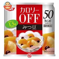 SSK カロリ-OFF フルーツみつ豆 185g缶×24個入