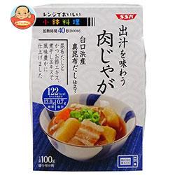 SSK レンジでおいしい! 小鉢料理 出汁を味わう肉じゃが 100g×12個入
