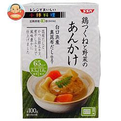 SSK レンジでおいしい! 小鉢料理 鶏つくねと野菜のあんかけ 100g×12個入