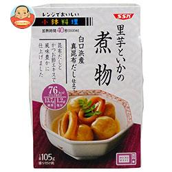 SSK レンジでおいしい! 小鉢料理 里芋といかの煮物 105g×12個入