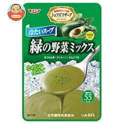 SSK シェフズリザーブ 冷たいスープ 緑の野菜ミックス 160g×40袋入