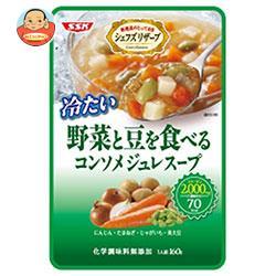 SSK シェフズリザーブ 野菜と豆を食べる コンソメジュレスープ 160g×40袋入