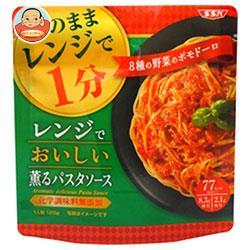 SSK レンジで美味しい薫るパスタソース 8種の野菜のポモドーロ 120g×20袋入