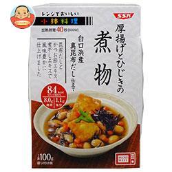 SSK レンジでおいしい! 小鉢料理 厚揚げとひじきの煮物 100g×12個入