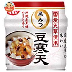SSK 国産天草使用 黒みつ豆寒天 230g缶×12個入
