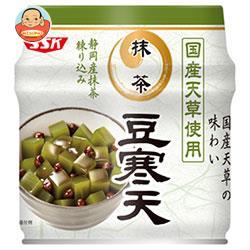 SSK 国産天草使用 抹茶豆寒天 230g缶×12個入