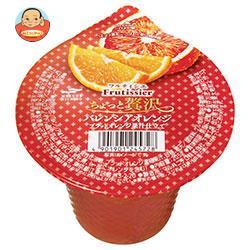 マルハニチロ フルティシエ ちょっと贅沢 バレンシアオレンジ 205g×24(6×4)個入