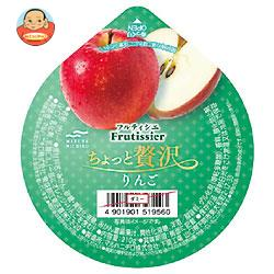 マルハニチロ フルティシエ ちょっと贅沢 りんご 210g×24(6×4)個入