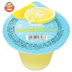マルハニチロ フルティシエ 神奈川県産湘南ゴールド 贅沢な果汁とナタデココのジュレ 205g×24(6×4)個入