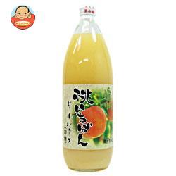 長野興農 信州桃いちばん ピーチジュース 1L瓶×6本入