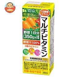 農協 野菜Days 1日野菜プラス マルチビタミン 200ml紙パック×24(12×2)本入
