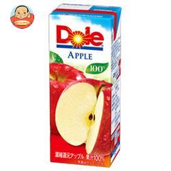 Dole(ドール) アップル 100% 200ml紙パック×18本入