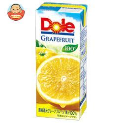 Dole(ドール) グレープフルーツ 100% 200ml紙パック×18本入