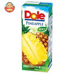 Dole(ドール) パイナップル 100% 200ml紙パック×18本入