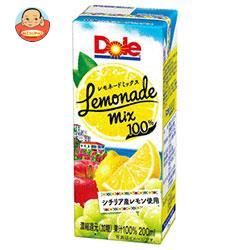 Dole(ドール) レモネードミックス 200ml紙パック×18本入