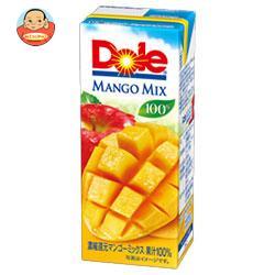 Dole(ドール) マンゴーミックス 100% 200ml紙パック×18本入