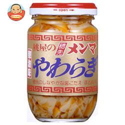 桃屋 穂先メンマ やわらぎ (辣油味) 115g瓶×12個入
