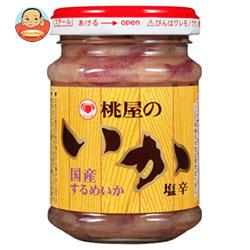 桃屋 いか塩辛 110g瓶×6個入