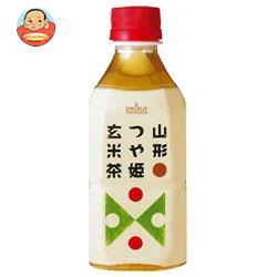 山形食品 山形つや姫玄米茶 350mlペットボトル×24本入