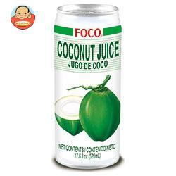 FOCO(フォコ) ココナッツジュース 520ml缶×24本入