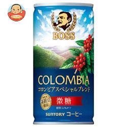 サントリー BOSS(ボス) コロンビア スペシャルブレンド 185g缶×30本入
