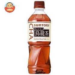 サントリー 烏龍茶【自動販売機用】 500mlペットボトル×24本入