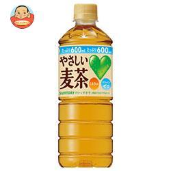 サントリー GREEN DAKARA(グリーン ダカラ) やさしい麦茶【自動販売機用】 600mlペットボトル×24本入