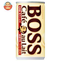 サントリー BOSS(ボス) カフェオレ 185g缶×30本入
