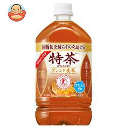 サントリー 特茶 カフェインゼロ 【特定保健用食品 特保】 1Lペットボトル×12本入