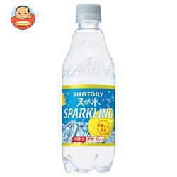 サントリー 天然水スパークリング レモン【自動販売機用】 480mlペットボトル×24本入