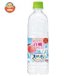 サントリー 白桃ヨーグリーナ&サントリー天然水 550mlペットボトル×24本入