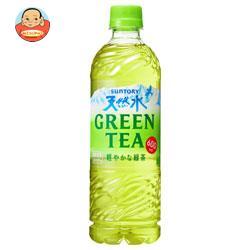 サントリー 天然水 GREEN TEA(グリーンティー) 600mlペットボトル×24本入