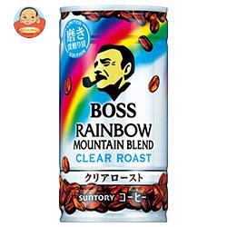 サントリー BOSS(ボス) レインボーマウンテン クリアロースト 185g缶×30本入