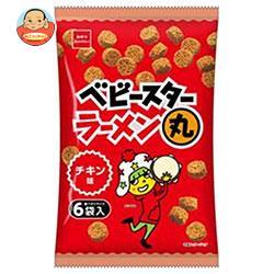 おやつカンパニー ベビースターラーメン丸 チキン味6袋入 138g(23g×6)×12袋入