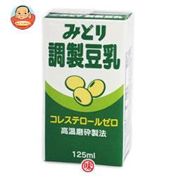九州乳業 みどり 調製豆乳 125ml紙パック×12本入