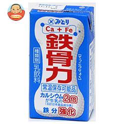 九州乳業 鉄骨力 125ml紙パック×36本入