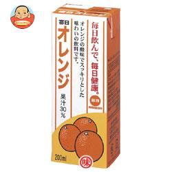 毎日牛乳 毎日オレンジ 200ml紙パック×24本入