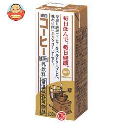 毎日牛乳 毎日コーヒー 200ml紙パック×24本入