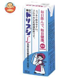 毎日牛乳 毎日ドリプシL 200ml紙パック×24本入