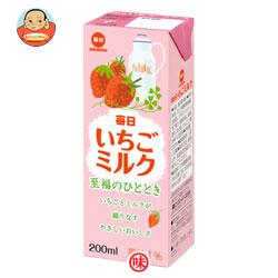 毎日牛乳 毎日いちごミルク 200ml紙パック×24本入