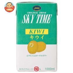 JALUX スカイタイム キウイ 1L紙パック×12(6×2)本入