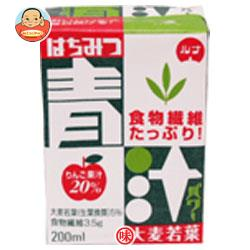 日本ルナ はちみつ青汁パワー 200ml紙パック×16本入