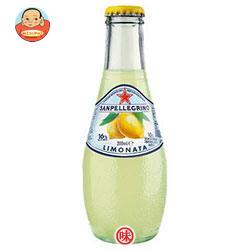 サンペレグリノ スパークリング フルーツベバレッジ リモナータ(レモン) 200ml瓶×24本入